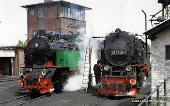 Photo: Wernigerode. Station HSB (Harzquerbahn).