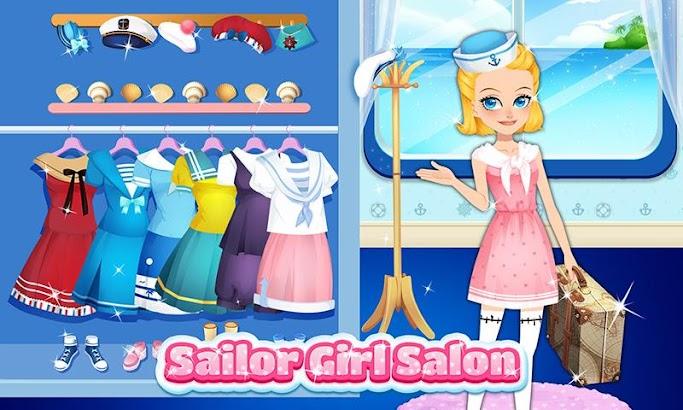 Dress Up! Sailor Girls!- screenshot thumbnail