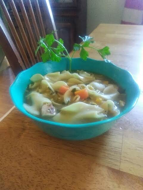 This Is Not Your Ordinary Chicken Soup. It Has Layers And Layers Of Flavor For Those Cool Days Of Fall And Winter!