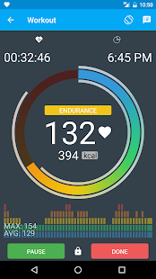 MotiFIT - Heart Rate Monitor- screenshot thumbnail