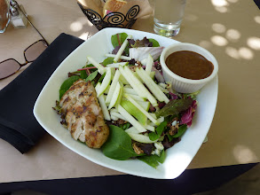 Photo: Lunch at the Cafe of the Museum of Contemporary Art, La Jolla