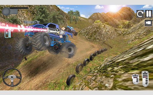 Monster Truck Shooting Race 2020: 3D Racing Games android2mod screenshots 2