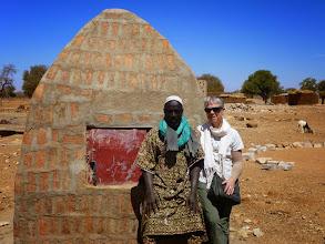 Photo: met de chef du village