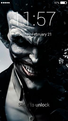 Card Joker Lock Screen screenshots 3