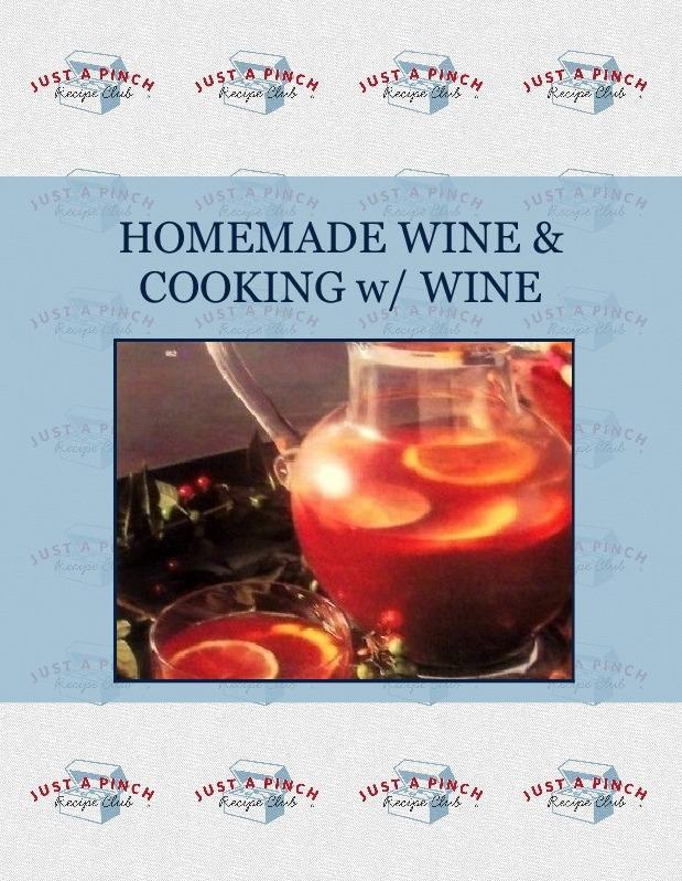 HOMEMADE WINE & COOKING w/ WINE