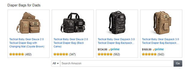 The baby gear for dads as ideas to dropship baby items