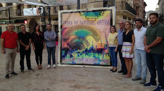 Huércal-Overa inicia los actos previos de  Feria con la presentación del cartel