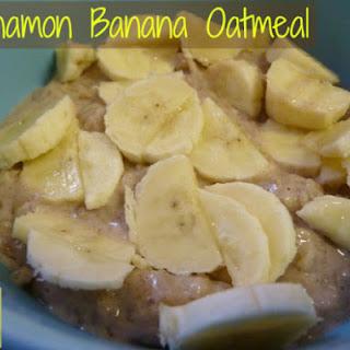 Cinnamon Banana Oatmeal!