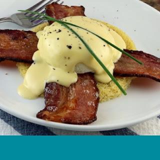 Bacon Eggs Benedict.