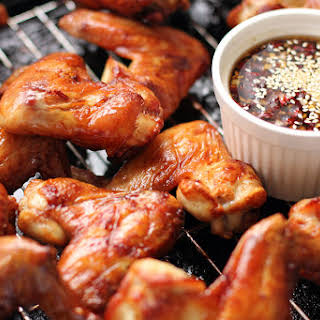 Korean-Style Chicken Wings.