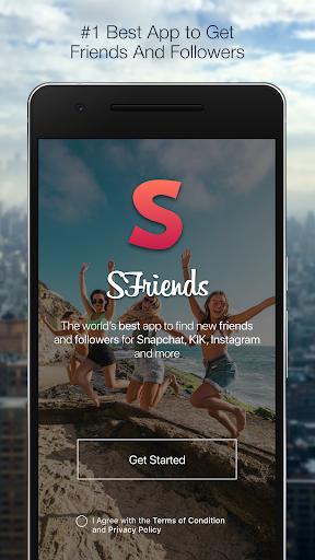 Add friends on Snapchat , KIK & Instagram 10.5 Screenshots 1