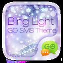GO SMS PRO BLING LIGHT THEME icon