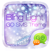 GO SMS PRO BLING LIGHT THEME