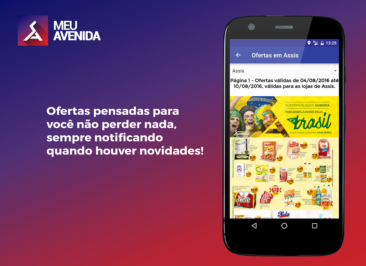 Meu Avenida (Beta): captura de tela