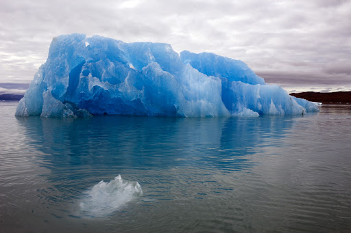 Qassiarsuk, Greenland, is famous for its blue ice.