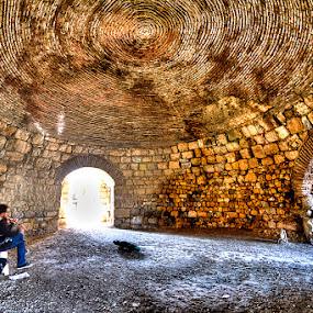 Cave of the Violins by Rico Besserdich - Buildings & Architecture Public & Historical ( ancient, castle, historical, teos, turkey, rico besserdich, violine )