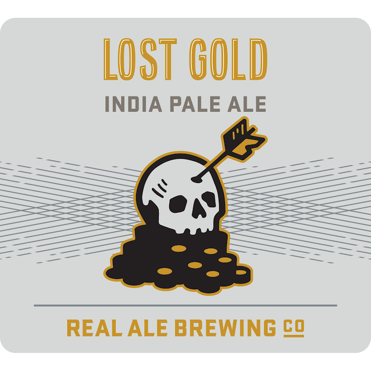 Logo of Real Ale Lost Gold IPA