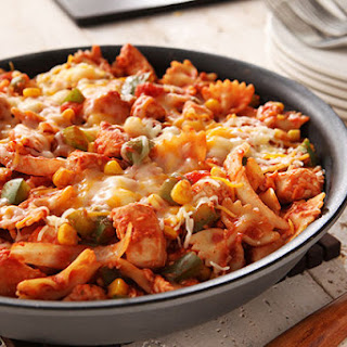 Mexican Chicken-Pasta Skillet