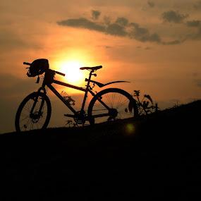 Selamat malam...file lama by Mas Bagus - Landscapes Sunsets & Sunrises