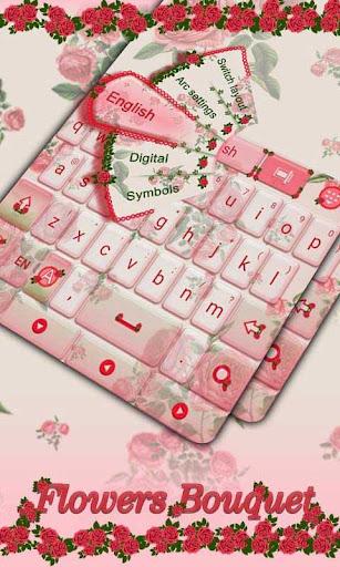 Flowers Bouquet Keyboard Theme