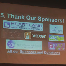 Photo: Thanks to the sponsors for #edcampmke big thanks for support our learning. by mvmatera