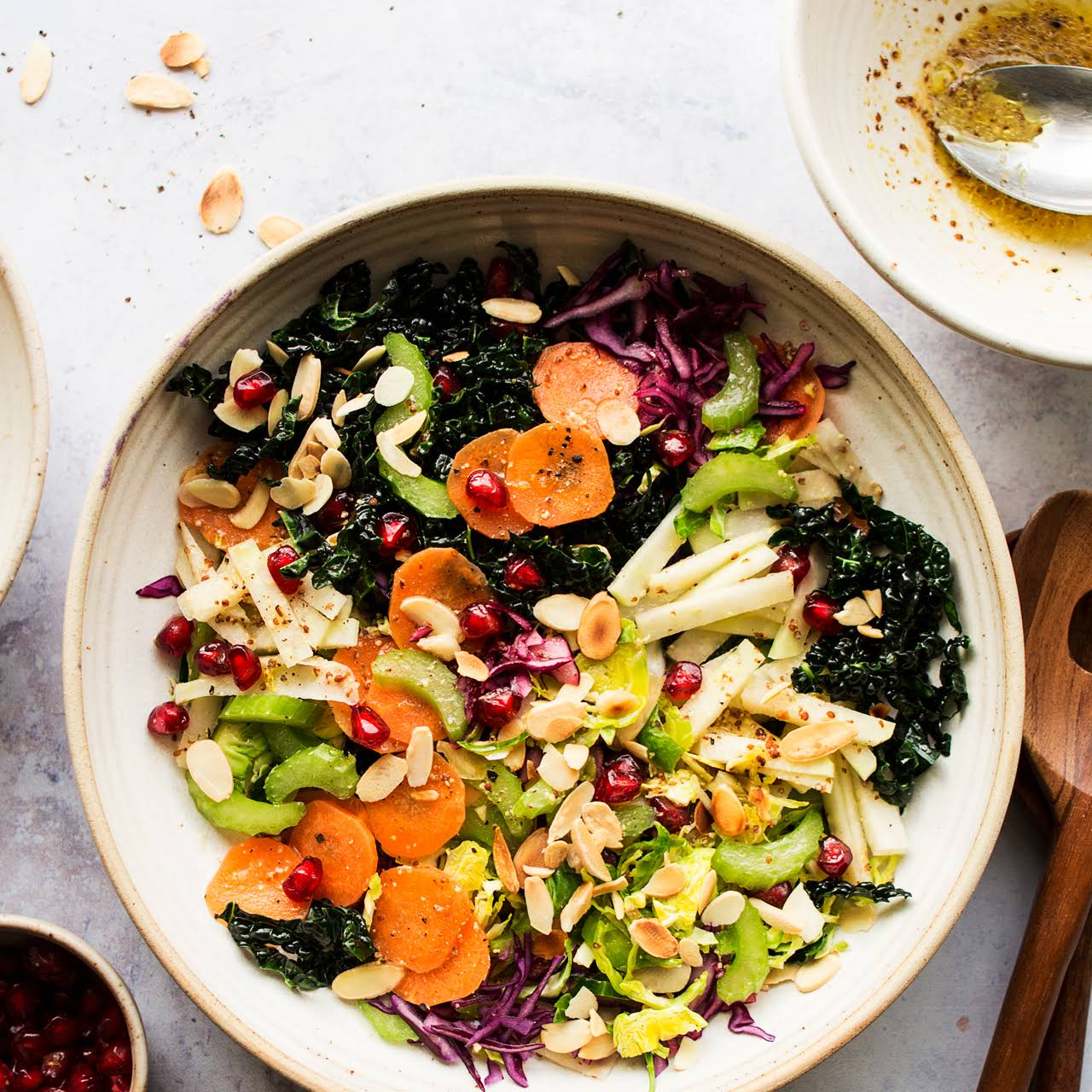 Winter Slaw  in the same way as Mustard  tawny Dressing