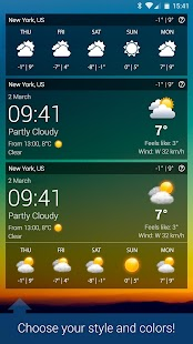 Weather XL PRO Screenshot