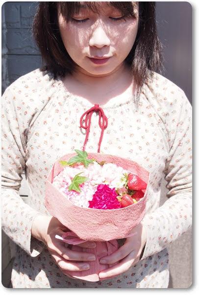 日比谷花壇そのまま飾れるブーケ