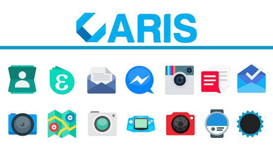 Aris - Icon Pack Screenshot