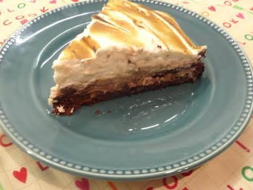 """Double Chocolate Pecan Pie""""It is so rich and decadent! Just perfect for..."""
