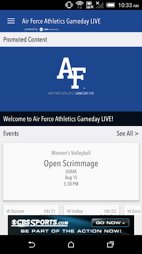 Air Force Falcons Gameday LIVE