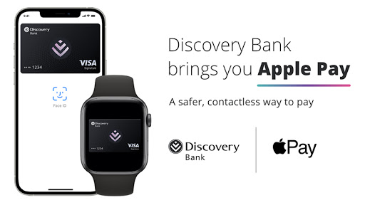 Discovery Bank customers can now also enjoy Apple Pay.