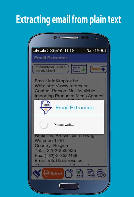 Email Address Extractor screenshots
