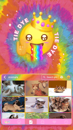 Tie Dye Themefor Kika Keyboard 36.0 screenshot 903579