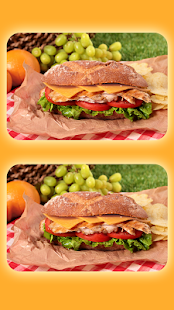 Spot The Differences - Yummy Food 300 Levels - náhled