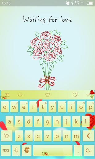 Emoji Keyboard-Wait For Love