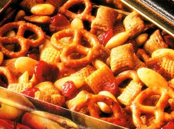 Cranberry-orange Snack Mix Recipe