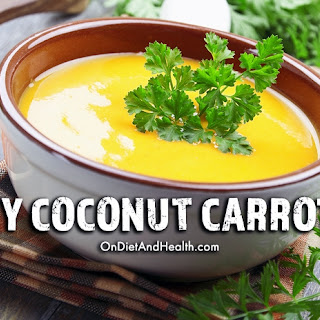 Creamy Coconut Carrot Soup.