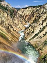 Photo: Yellowstone National Parc - Canyon de yellowstone