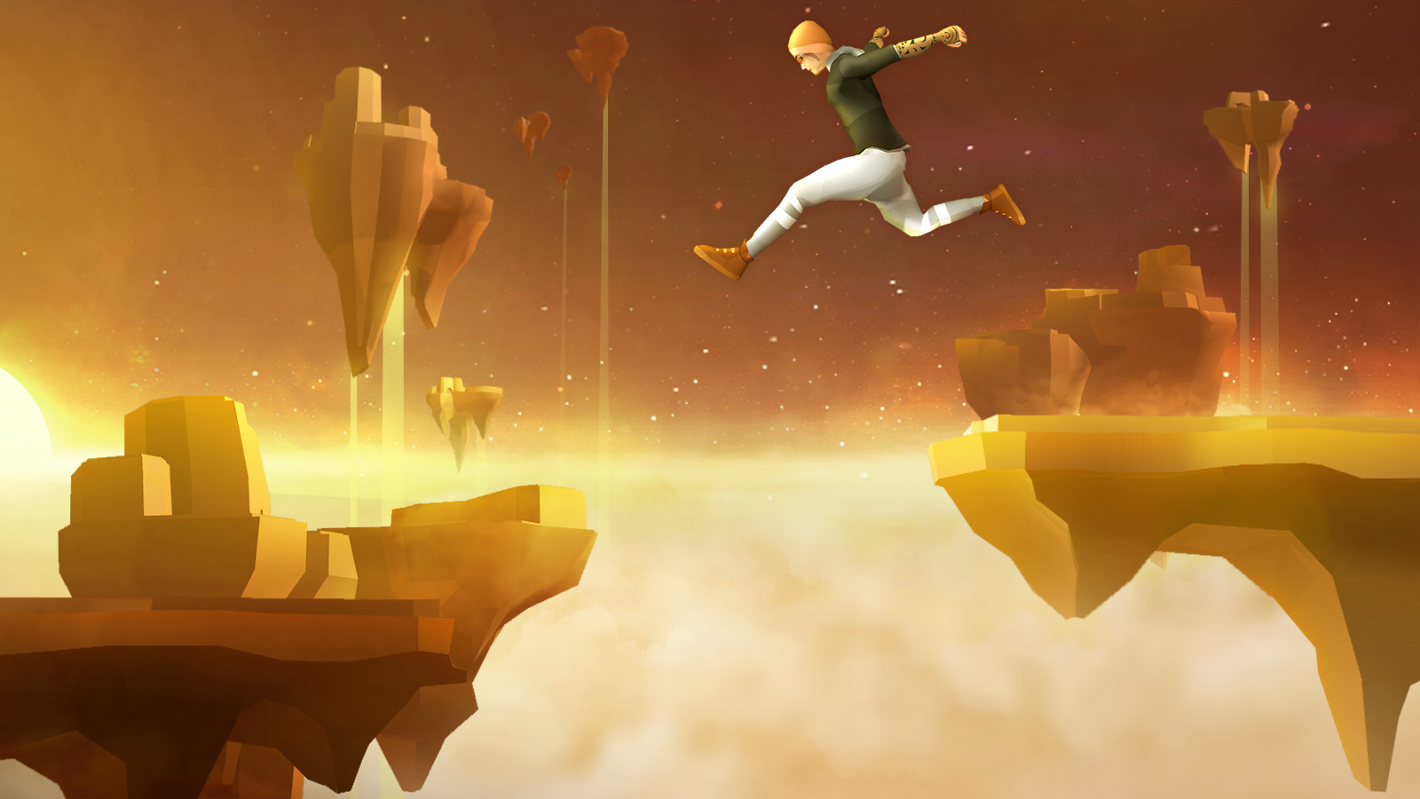Sky Dancer Run - Running Game- screenshot