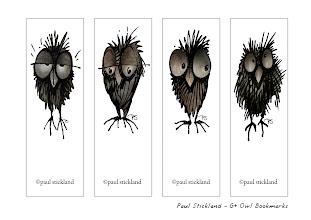 Photo: paul stickland google plus owl bookmarks