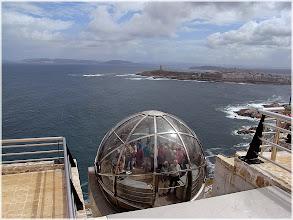 Photo: La Coruña . Ascensor de Monte de San Pedo  http://www.viajesenfamilia.it/