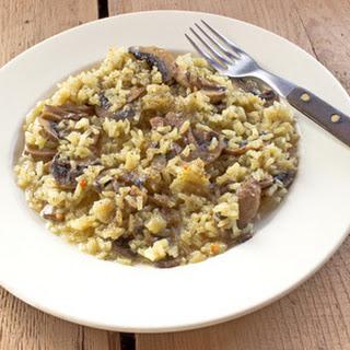 Chicken Mushroom Rice Casserole.