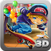 Speed Skate Rush 3D