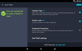 Screenshot of Tablet AntiVirus Security FREE