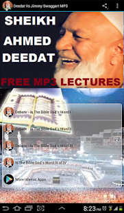 Deedat Vs Jimmy Swaggart MP3 - náhled