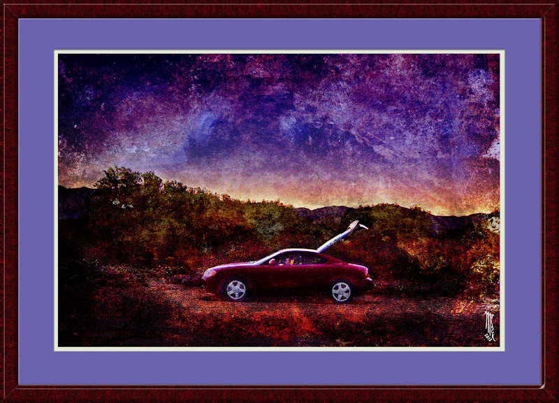 Photo: The sunset afterglow adds to the desert magic. My addition to: #transporttuesday curated by +Gene Bowker, +Joe Paul, +Steve Boykoand +Michael Earley +Texture Blend Photographyand +Breakfast Club curated by +Gemma Costa +Breakfast Art Clubcurated by +Kate Church +PaintIt Clubcurated by +Alexius Jørgensen, +Clare Bambersand +Dana Moyer +Arty Pics of the Week