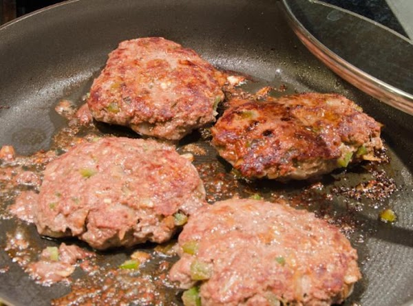 While the patties are cooking, make your sauce.