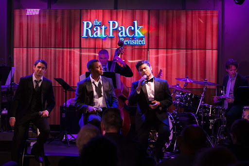 "Viking-Star-Rat-Pack-Revisited-3 - Three talented singers perform in ""The Rat Pack Revisited,"" one of the shows aboard Viking Star."