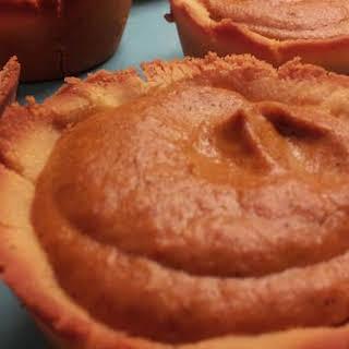 Low Carb Pumpkin Cheesecake Tarts.
